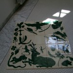 Ceramique, Thermes de Badenweiller 2013. 100 x 100