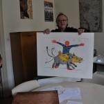 estampe, cabinet des estampes, art en alsace, Didier CLAD
