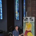 art en Alsace, Chagall vitraux, Mayence, Mainz