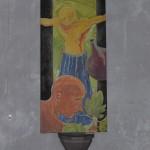 Aile latérale gauche. Huile sur toile, 180 x 90 cm. Collégiale St Stephan à Mayence, été 2016