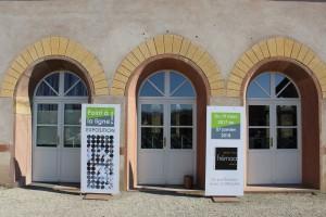 Ecomusée d'Alsace exposition à la gare, Fédération Régionale des Métiers d'Art, estampe et art en Alsace, éditions d'art et taille douce.