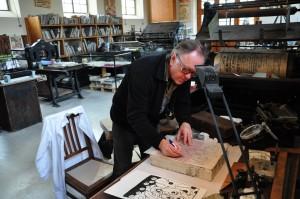 estampe , lithographie, art en alsace, Tom Borocco, Didier Clad