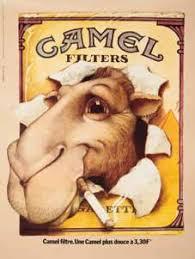 """Publicité pour """" Camel """" dans   """" l´hebdromadaire """" l´Express."""