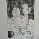 Lithographie sur pierre: Atelier Tom Borocco