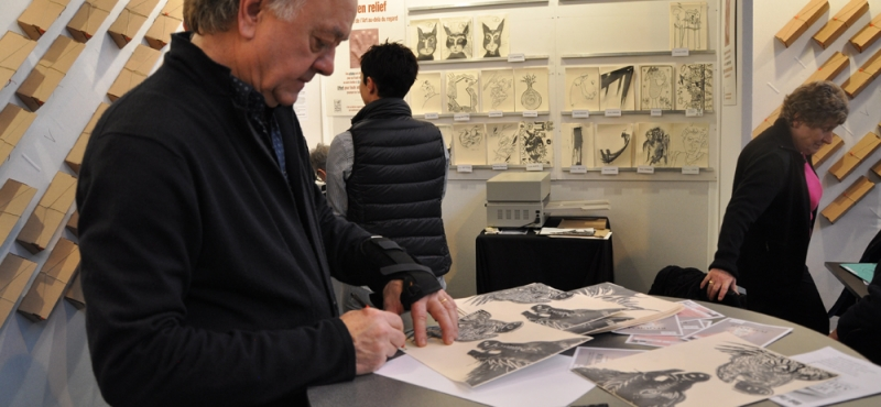 St'Art 2015   Didier CLAD avec » L'Art au de-là du regard «