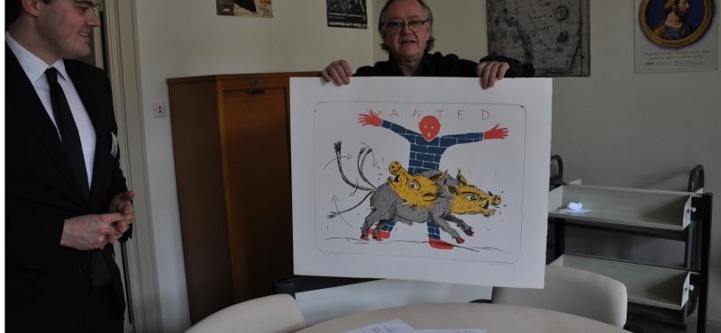 Didier CLAD: estampes et livre d'artiste en collection au Cabinet des Estampes de la Bibliothèque Nationale et Universitaire de Strasbourg.