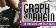 Salon » Graph am Rhein »   à l' Aubette,  du 22 au 24 juin 2018.