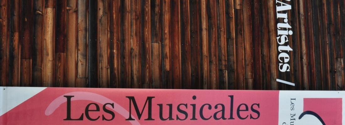 Les Musicales du Parc. » La suite Merger «