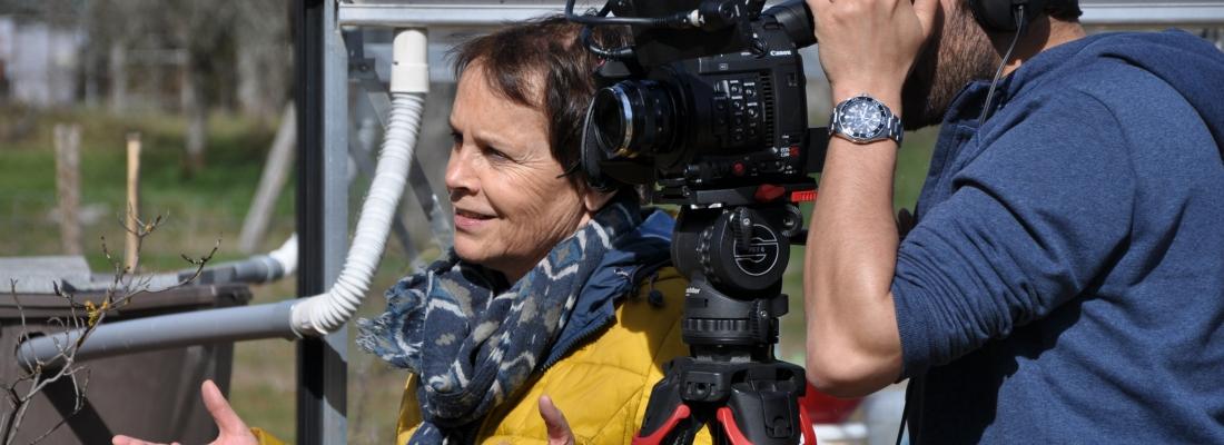 France 2 en tournage aux chambres d´hôtes » Les Arts Verts «…
