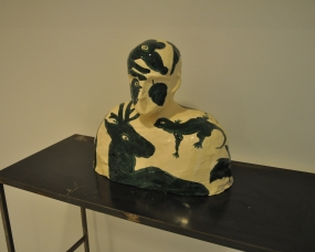 Le buste vert