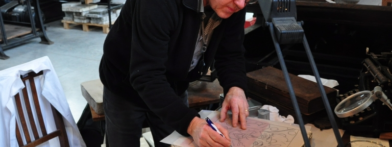 » Visites d' ateliers d' artistes en Alsace «