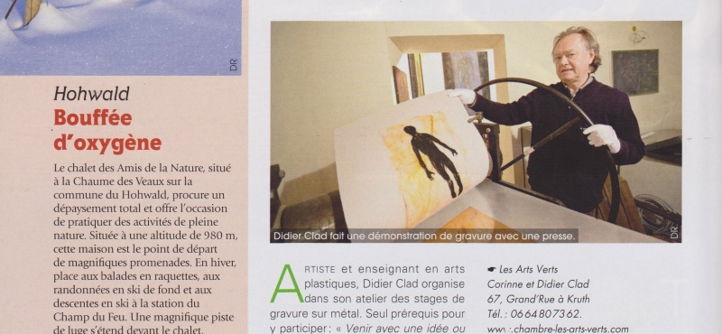 Magazine «En Alsace » n°83 Février 2014