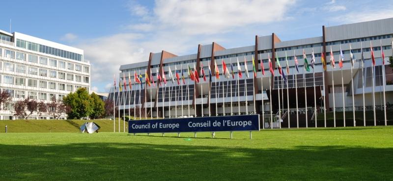 Exposition au Conseil de l' Europe durant tout le mois de septembre 2017…