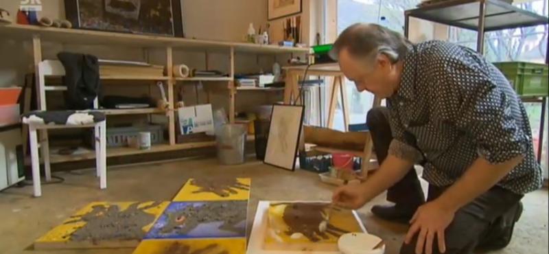 Reportage TV sur SWR3: » Les arts-verts «