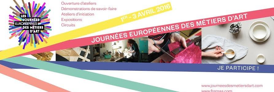 Journées Européennes des Métiers d' Art:  portes ouvertes…
