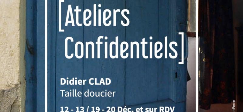 Visites d´ateliers confidentiels, décembre 2020 à Kruth. Artiste invité aux chambres d´hôtes: Henri Walliser. www.chambre-les-arts-verts.com