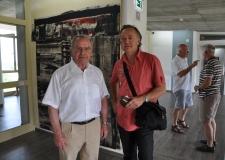 Didier CLAD et Rüdiger Hurrle. Regard sur une exposition passée :   » Profile in der Kunsttradition am Oberrhein «
