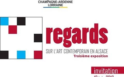 Exposition « Regards sur l'Art Contemporain en Alsace » à la Maison de la Région, à Strasbourg, du 3 juin au 1er juillet 2016