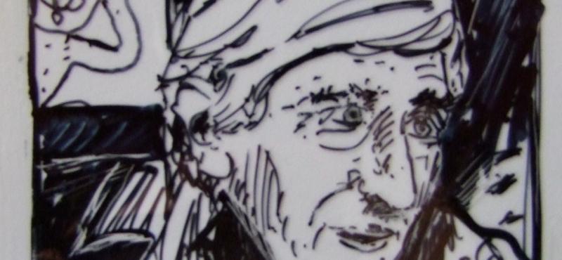 Portraits «croqués» de Tomi Ungerer par Didier CLAD