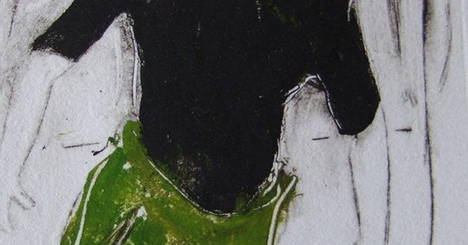 Ombre verte et noire